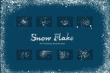 Realistic Snow Flake Brushes - Photohack Lovers