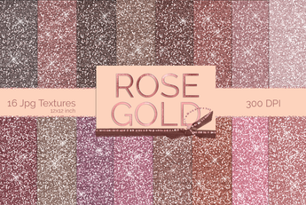 Rose Gold Glitter Textures - Photohack Lovers