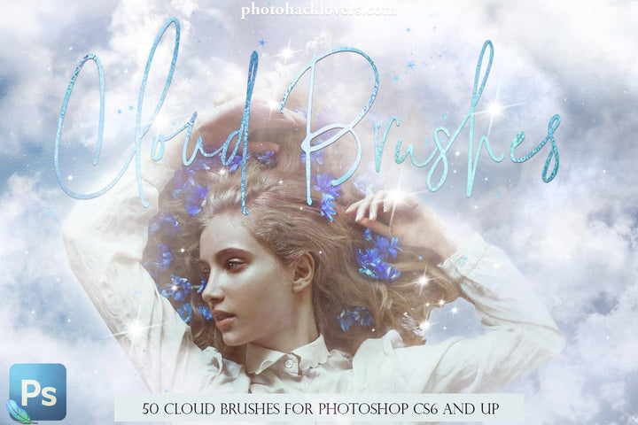 50 Aesthetic Cloud Photoshop Brushes - Photohack Lovers