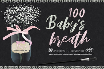 Babys Breath Photoshop Design Kit - Photohack Lovers