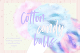 Cotton Candy Clipart - Photohack Lovers