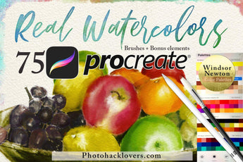 Procreate Watercolor Brushes - Photohack Lovers