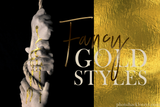 Photoshop Gold Styles Pack - Photohack Lovers