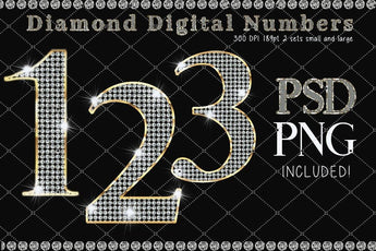 Diamond and Gold Numbers - Photohack Lovers