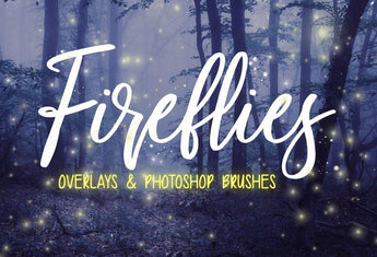 Firefly OVERLAYS + PHOTOSHOP BRUSHES - Photohack Lovers