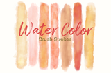 Peach Passion Watercolor set - Photohack Lovers