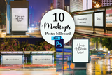 10 Billboard Photoshop Mockups - Photohack Lovers