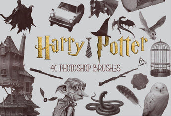 Harry Potter Photoshop Brushes - Photohack Lovers
