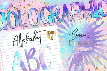 Holographic Letters - Photohack Lovers
