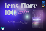 Lens flare Photoshop Brushes - Photohack Lovers