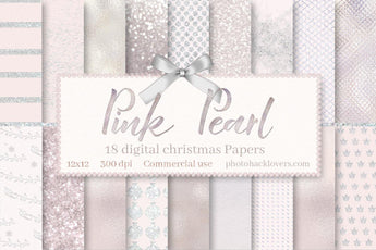 Pink Pearl Digital Paper - Photohack Lovers
