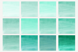 Mint Watercolor Ombre Paper - Photohack Lovers