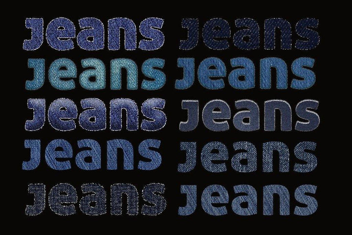Photoshop Blue Jeans Styles
