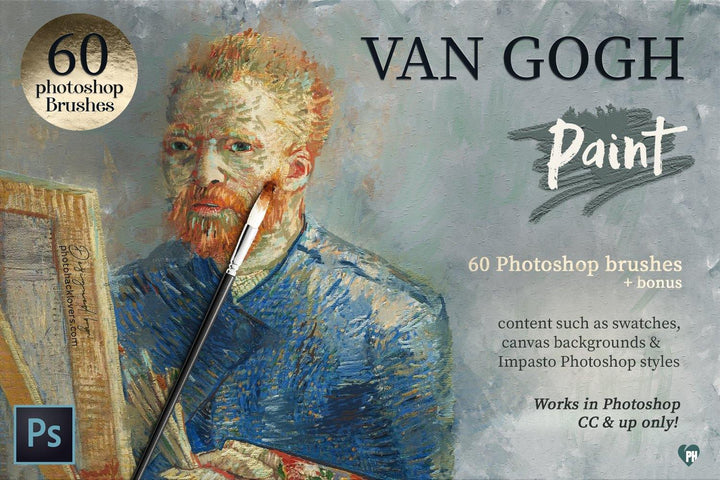 Vincent Van Gogh Photoshop Brushes - Photohack Lovers