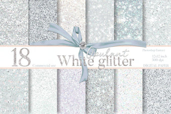 White glitter Backgrounds - Photohack Lovers