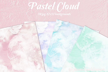 Aesthetic Pastel Cloud Backgrounds - Photohack Lovers