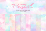 Pastel Watercolor Cloud backgrounds - Photohack Lovers