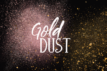 80 TRANSPARENT MIXED GOLD DUST
