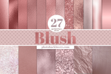 27 Blush Digital Papers - Photohack Lovers