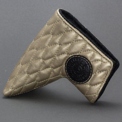 Gold Linx Quilted Leather Putter Cover ***LIMIT 1***