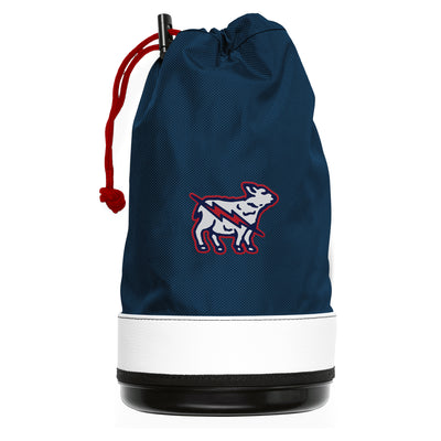 Lamb Crafted Shag Bag & Cooler Navy - Electric Lamb