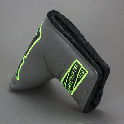 Lamb USA Head Cover - Gray/Lime ***LIMIT 1***