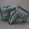 Lamb USA Putter Cover - Gray/Turquoise ***LIMIT 1***