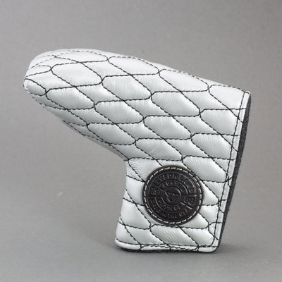 Silver/Black Linx Quilted Leather Putter Cover ***LIMIT 1***