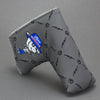 Lamb Malbon Putter Cover - Gray/Blue ***LIMIT 1***