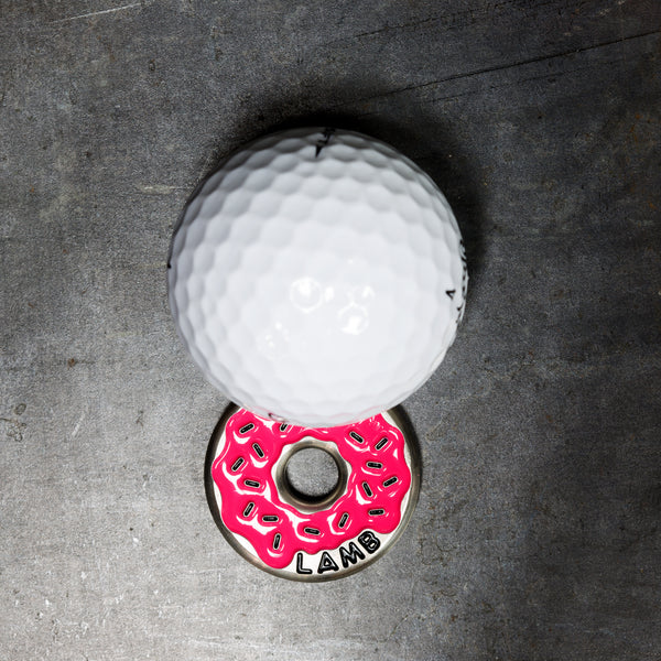 Very Berry Donut Ball Marker ***LIMIT 1***