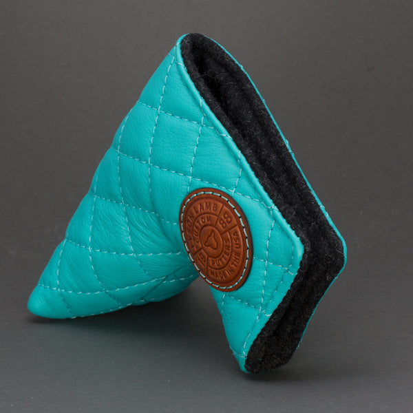 Turquoise Quilted Leather Putter Cover ***LIMIT 1***