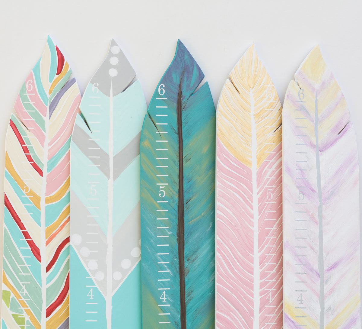 Feather Growth Charts