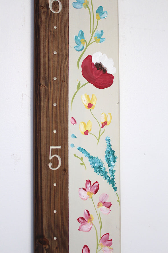 Floral Sunshine - Blossom and Sprout Growth Charts