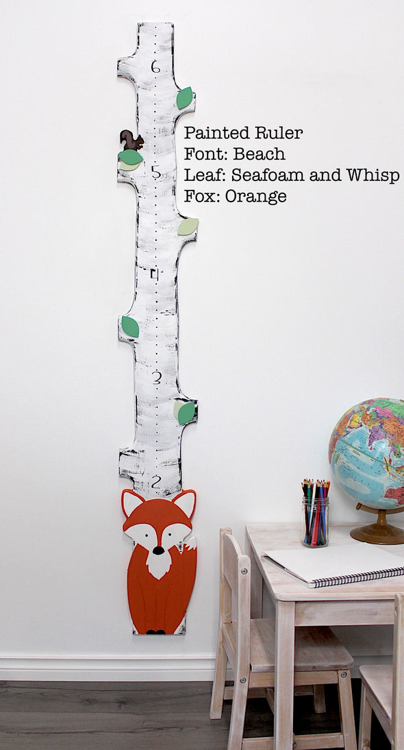 Woodland Fox BIRCH - Custom Order