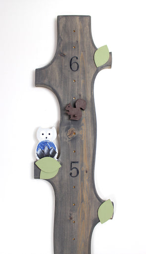 You're a Hoot Owl - Mountain Man with height Marker - Blossom and Sprout Growth Charts