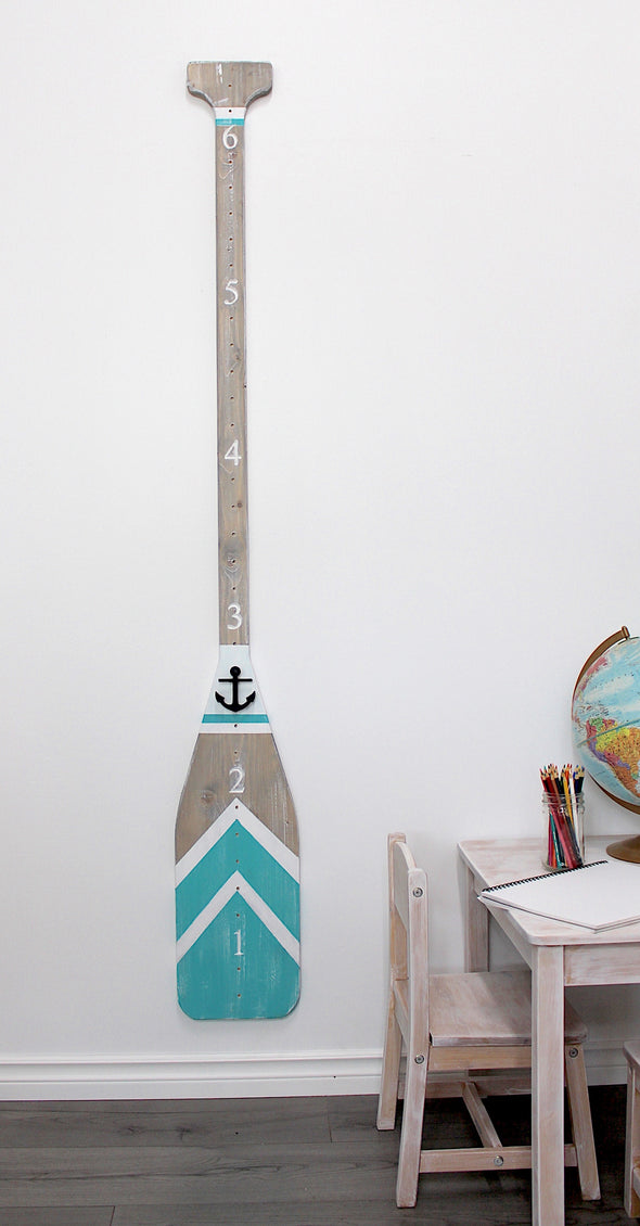 Paddle - Blue Breeze with Height Markers