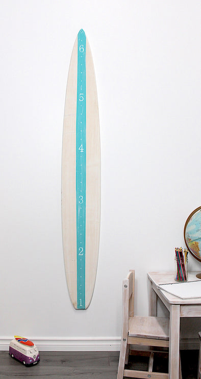 Surf's Up - White and Teal