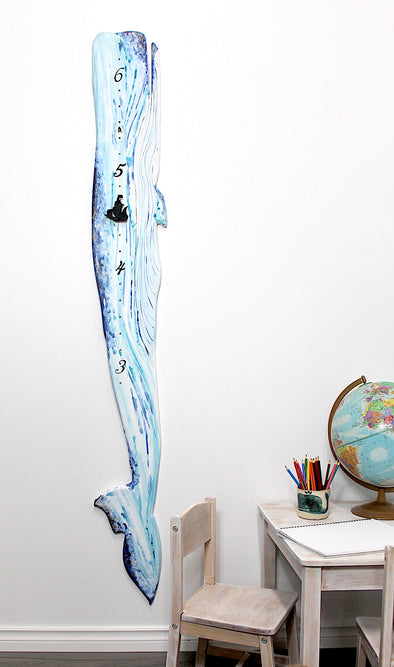 Whale - with Height Markers
