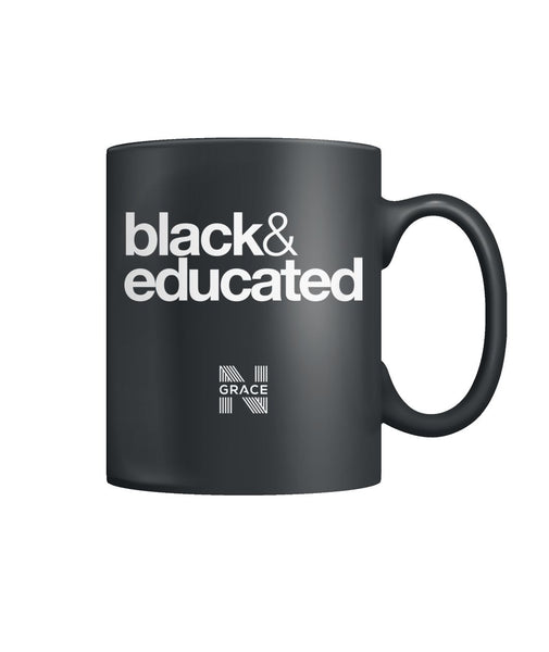 black & educated Coffee Mug Color Coffee Mug
