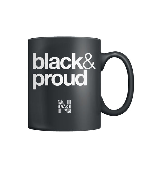 black & proud Coffee Mug  Color Coffee Mug
