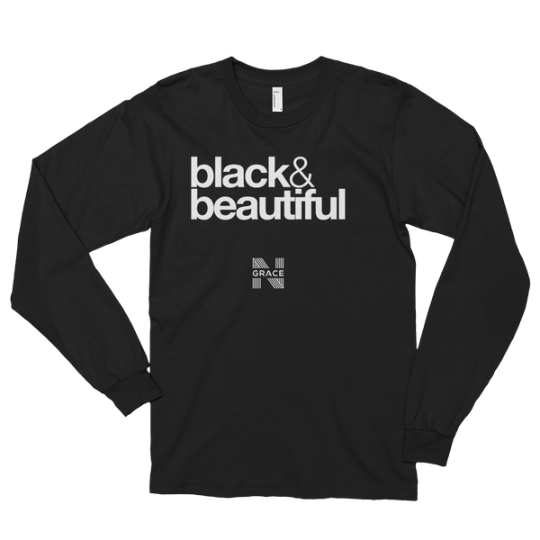Black & Beautiful Long Tee
