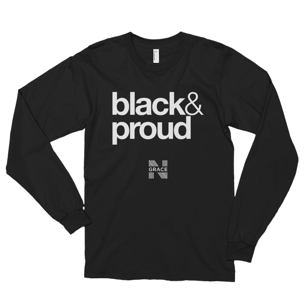 Black & Proud Long Tee