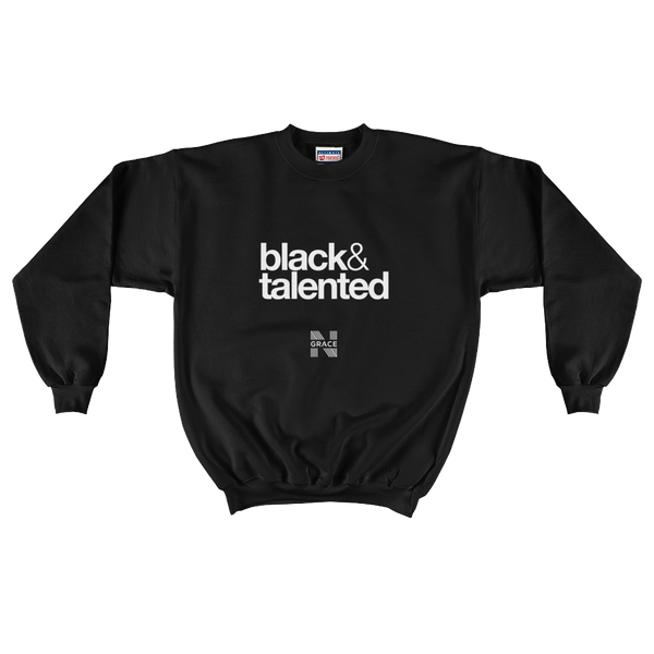 Black & Talented Crewneck