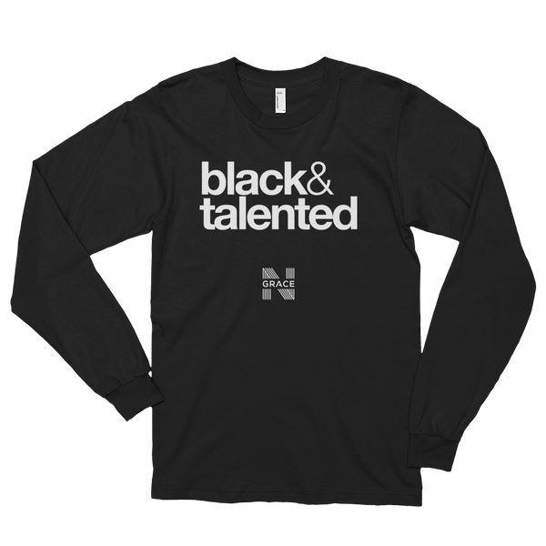 Black & Talented Long Tee