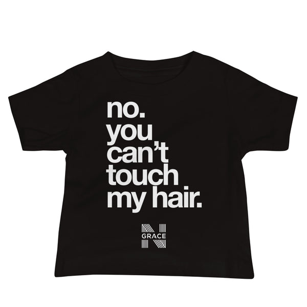 no touching Baby Jersey Short Sleeve Tee