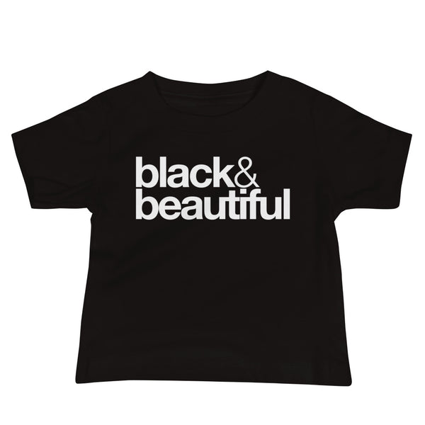 black & beautiful Baby Jersey Short Sleeve Tee