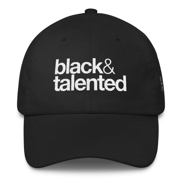 Black & Talented Dad Cap
