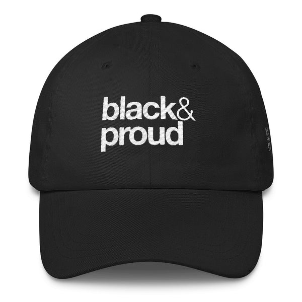 Black & Proud Dad Cap