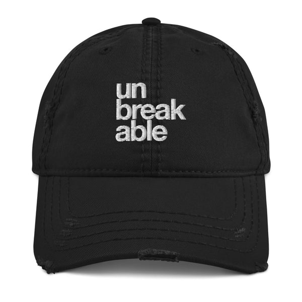 unbreakable Distressed Dad Hat