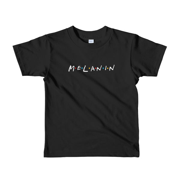 melanin Short sleeve kids t-shirt